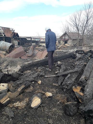 Оценка возмещение ущерба при пожаре
